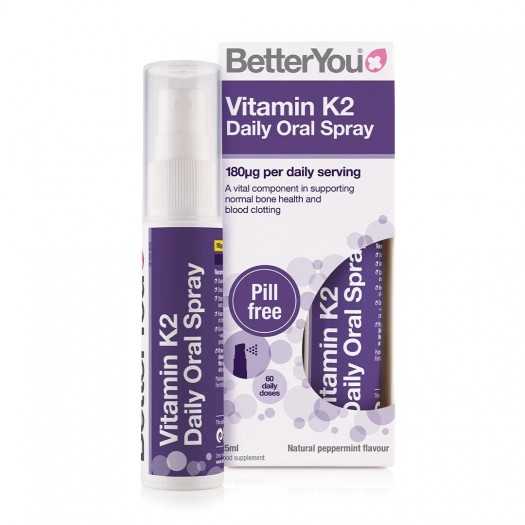Vitamin K2 Oral Spray, 25ml, BetterYou